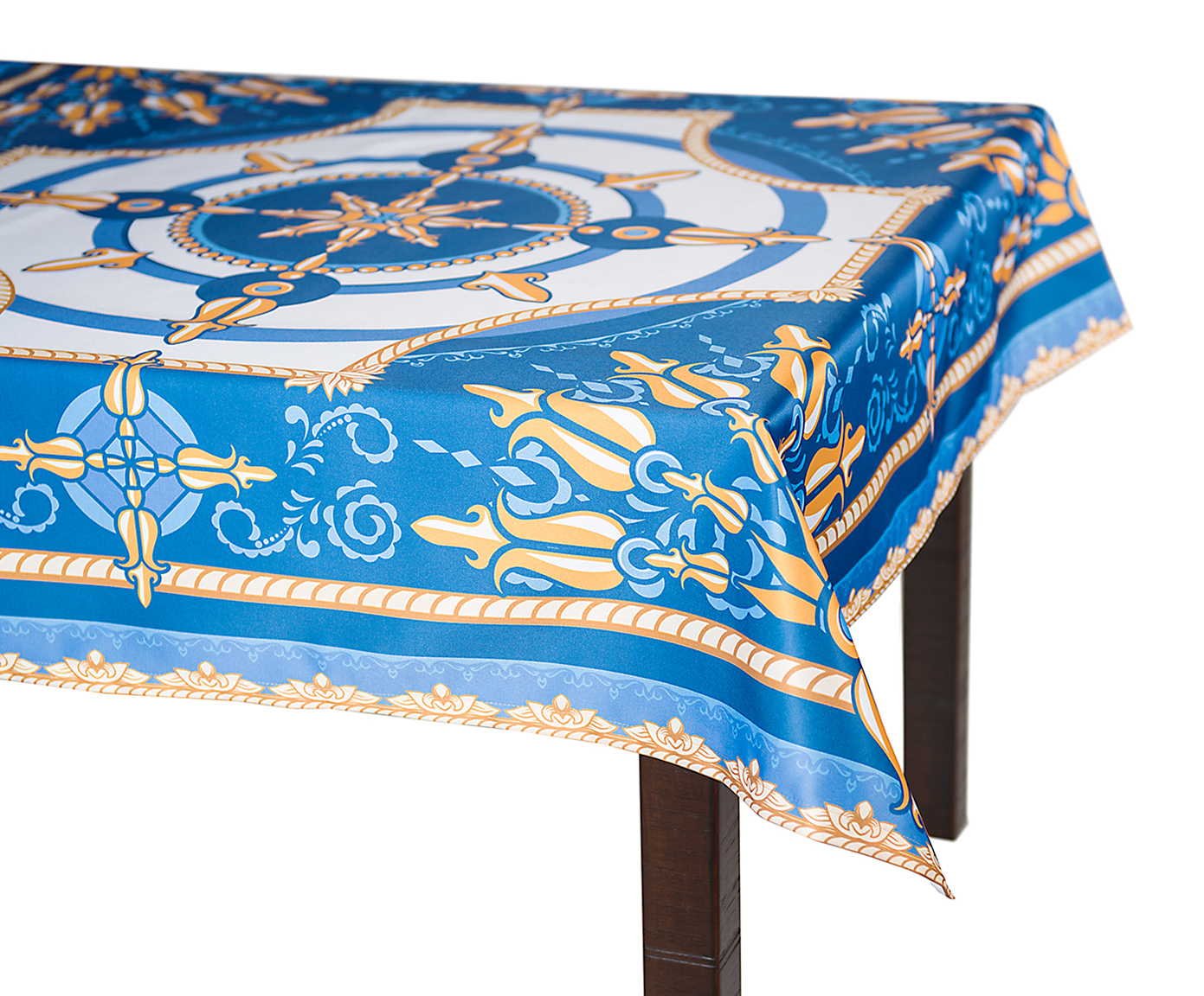 Кухня Скатерть 140x180 Blonder Home Raymond синяя skatert-140x180-blonder-home-raymond-sinyaya-ssha-rossiya.jpg