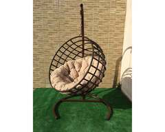 Кресло качели Мачете коричневые
