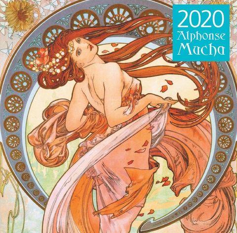 Альфонс Муха. Календарь на 2020 год