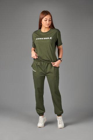 Женский костюм ЖК 019 (хаки)