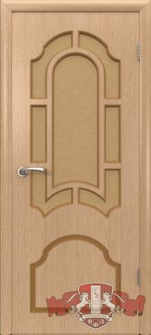 Дверь Владимирская фабрика дверей 3ДО3, цвет светлый дуб, остекленная