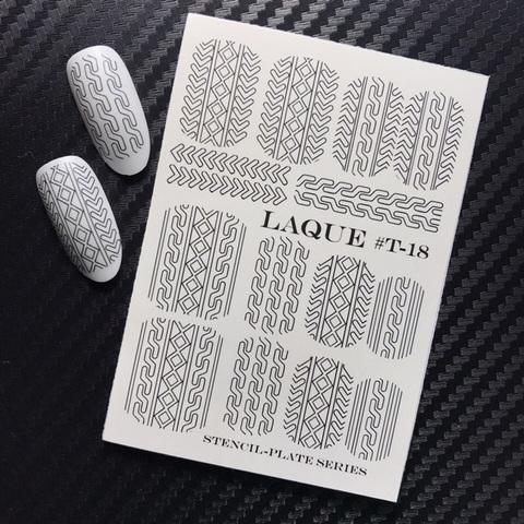 Слайдер-трафареты для объемного дизайна T-018