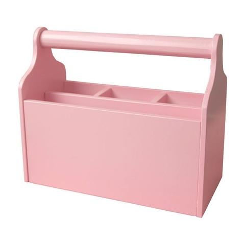 Карандашница большая розовая 3