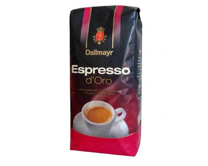 Кофе в зернах Dallmayr Espresso d'Oro, 1 кг (Даллмайер)