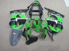 Комплект пластика для мотоцикла Kawasaki ZX-6R 00-02 Зеленый