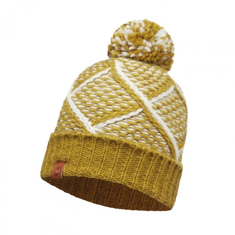 Вязаная шапка Buff Plaid Tobaco