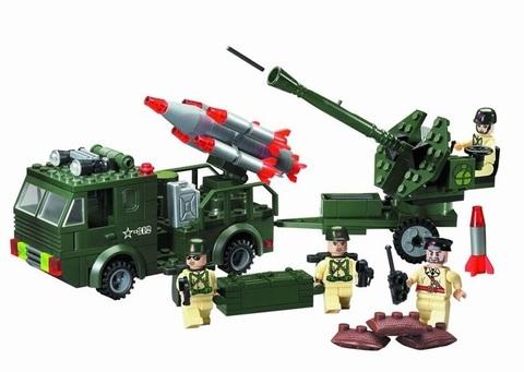Конструктор Зона боевых действий Ракетная установка и зенитка