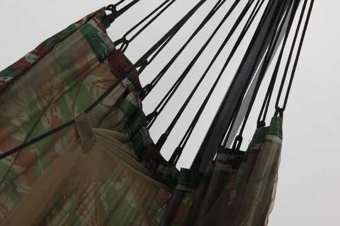 Гамак с москитной сеткой камуфляж с карманом для коврика RG16K