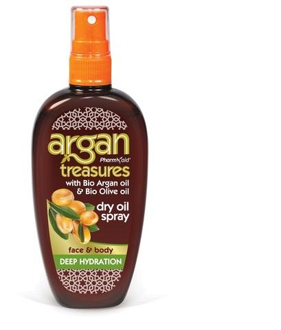 Аргановое масло для лица и тела (увлажняющий спрей)