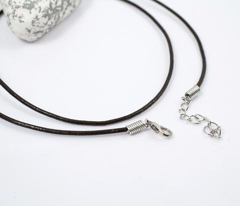 PL250-1 Черный шнур с застежкой (61 см)