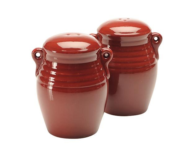 Кухня Набор солонка и перечница Blonder Home Red Glazed Pottery nabor-solonka-i-perechnitsa-blonder-home-red-glazed-pottery-ssha.jpg