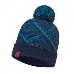 Вязаная шапка Buff Plaid Medieval Blue
