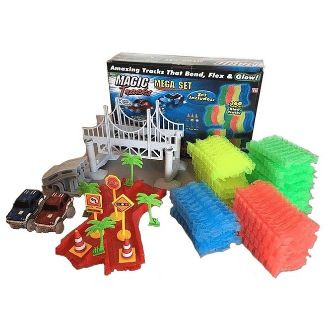 Товары для детей Трасса Magic Tracks (Мэджик Трек) 360 деталей mega_rek.jpg