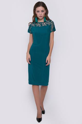 Элегантное коктейльное платье - придаст шикарный образ на любом торжественном мероприятии.Длина изделия 44р.-52р.=100см.-106см.