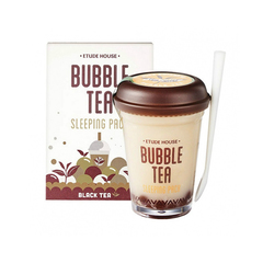 Ночная маска Etude House Bubble Tea Sleeping Pack - Black Tea, 100 мл