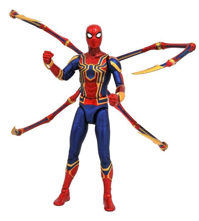 Фигурка Человека Паука Мстители: Война Бесконечности Marvel Select