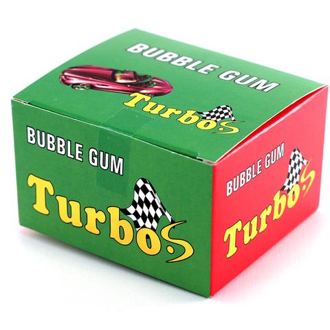 Жвачка Turbo (Турбо) (блок 20 шт.) с наклейками