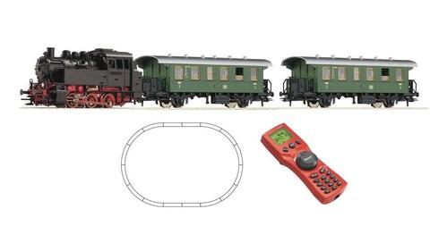 ROCO 51263 Цифровой стартовый набор с паровозом BR 80, 1:87