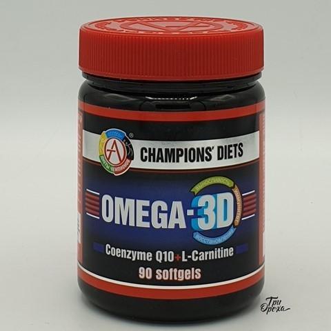 Комплекс OMEGA-3D, Академия-Т, 90 капс