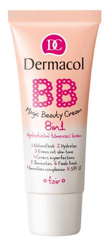 Dermacol BB magic beauty cream Уникальный BB-крем c эффектом тонального средства 8 в 1