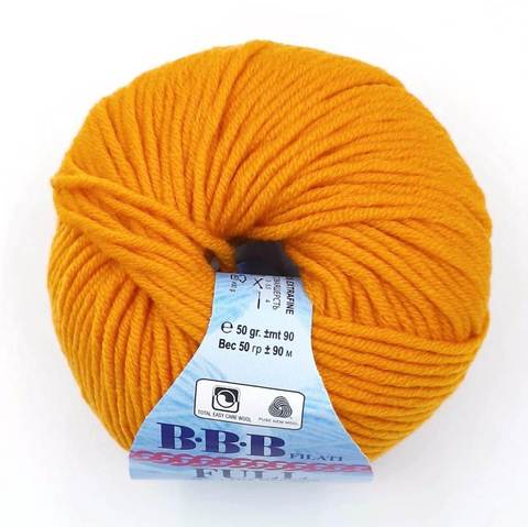 Пряжа BBB Filati Full 8928 оранжевый
