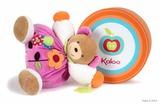 Kaloo. Мягкая игрушка Разноцветный Мишка большой цветы
