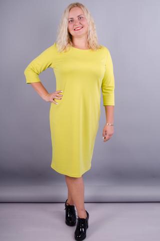 Арина француз. Платье больших размеров. Салат.