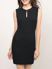 GDR008335 Платье женское. черное