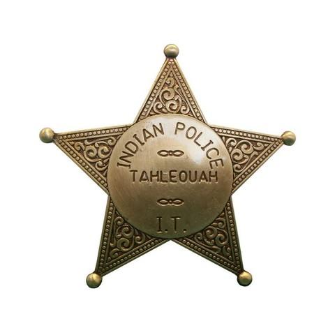 Бейдж полицейского амер. инд. полиции DE-108