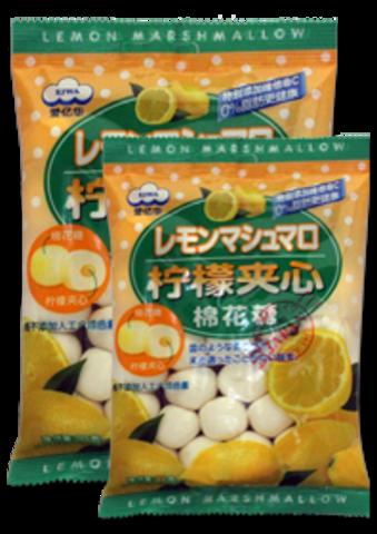 Зефир с лимонной начинкой 90 гр.