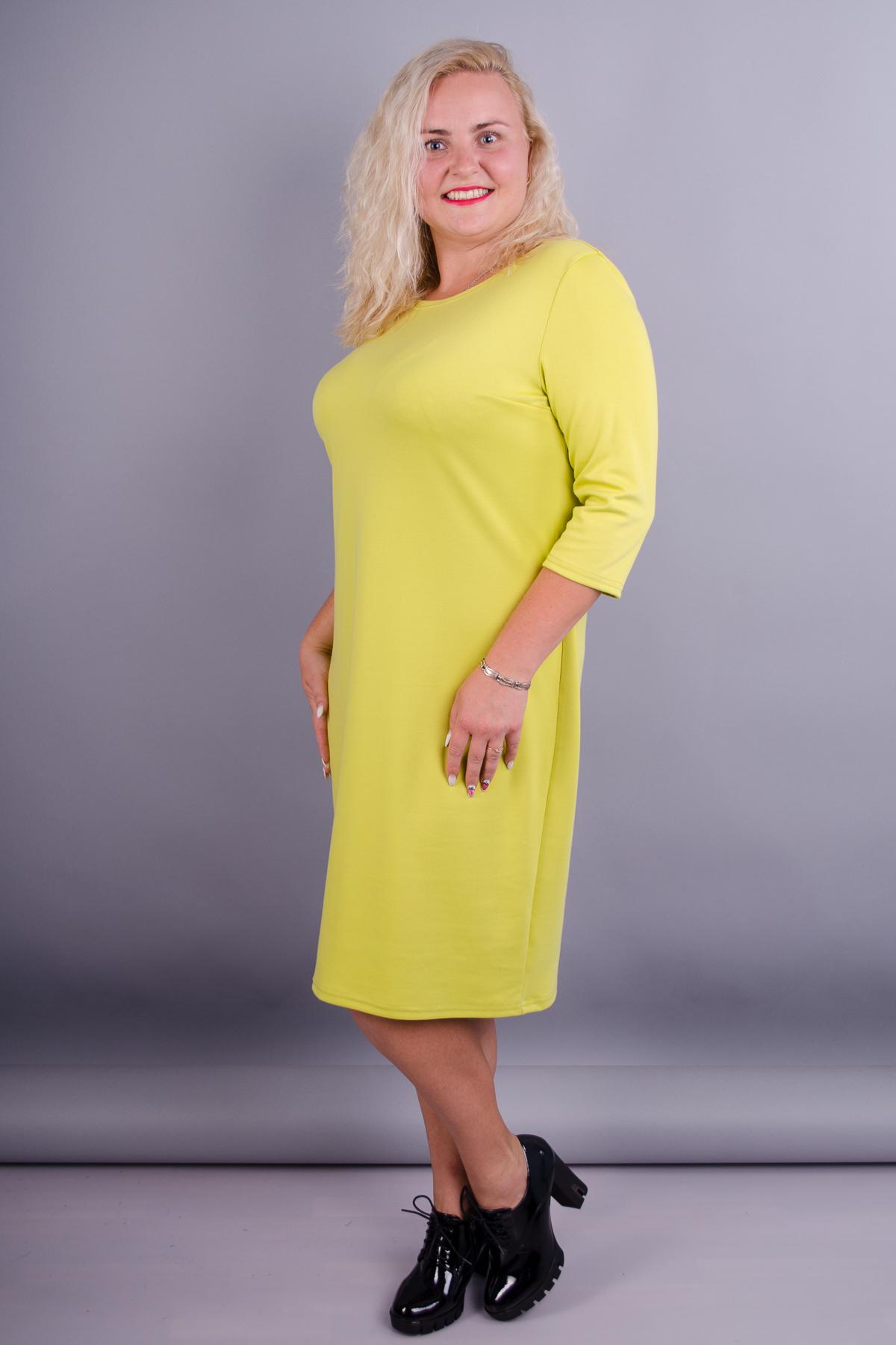 Аріна француз. Плаття для жінок великих розмірів. Салат. 61331f73035d5