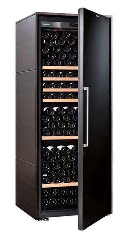 Винный шкаф EuroCave V Collection L венге, сплошная дверь, стандартная комплектация