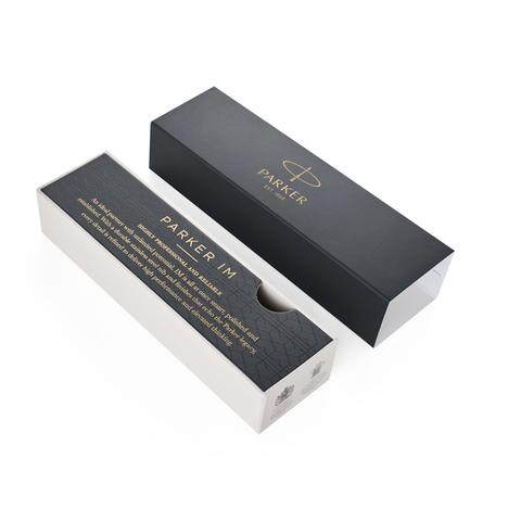 Набор с гравировкой: Ежедневник недатированная и Ручка роллер Parker IM Premium Core Black GT123