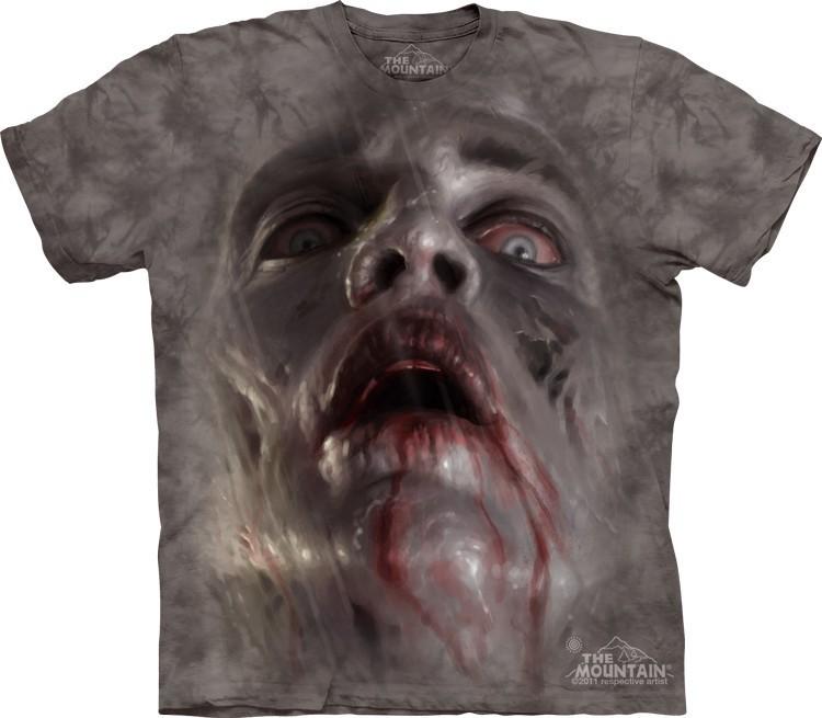 Футболка Mountain с изображением зомби - Zombie Face