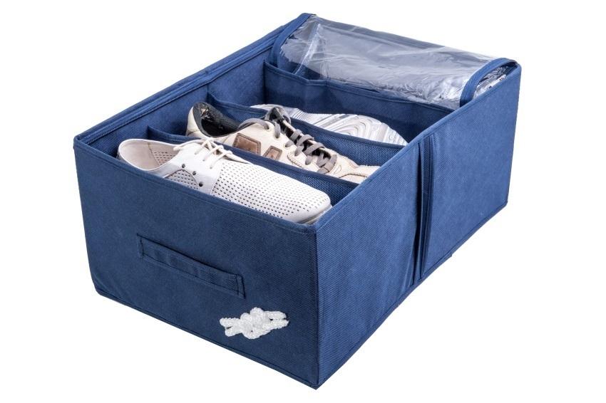 Кофр на 4 пары обуви, Классика