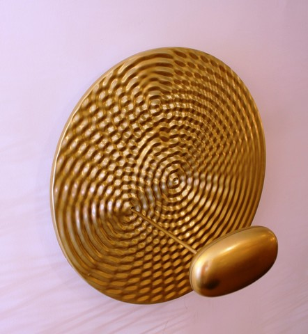 replica Droplet  wall  light ( gold ) by Art Design