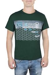 17611-8 футболка мужская, зеленая