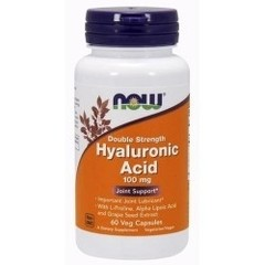 NOW Hyaluronic Acid (100mg) (60 caps.)