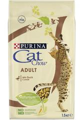 Purina Cat Chow для взрослых кошек с уткой