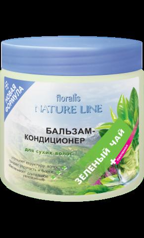 Floralis Nature Line Бальзам-кондиционер «Зеленый чай» для сухих волос 500г