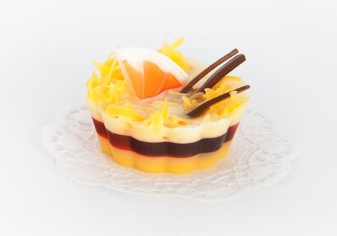 Мыльное ассорти/пирожное: АПЕЛЬСИН И КОРИЦА ДЕСЕРТ, 110 гр/шт