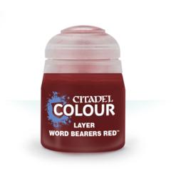 Citadel Layer: Word Bearers Red