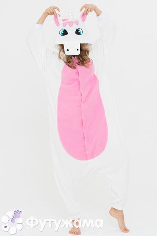 """Пижама-кигуруми Футужама """"Единорог розовый"""""""