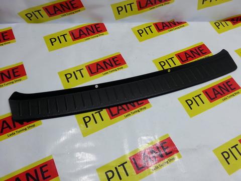 Накладка на задний бампер пластиковая Лада Гранта Лифтбэк.