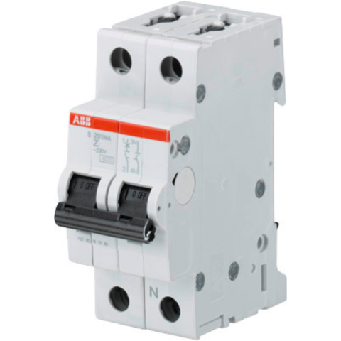 Автоматический выключатель 1-полюсный с нулём 50 А, тип Z, 10 кА S201M Z50NA. ABB. 2CDS271103R0578