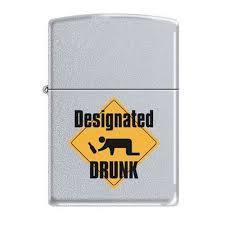 Зажигалка Zippo Designated drunk (205) CI003133