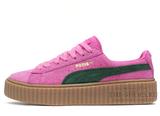 Кеды Женские Puma X Rihanna Creeper Pink Green Begie
