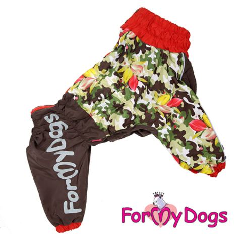 Дождевик для собак For My Dogs для мальчиков 251/3 SS-2017 M
