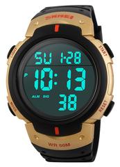 Часы SKMEI 1068 - Черный + Золото