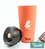 Термокружка el Gusto «Unicorn» peach 470 мл